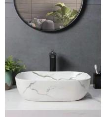458 Top Counter Ceramic Basin