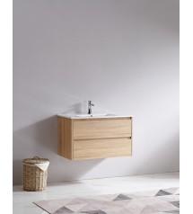 2163A-B Wall Hung Vanity