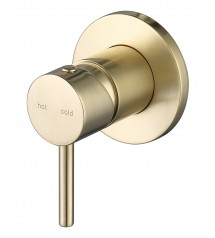 100205-2BG Round Shower Mixer